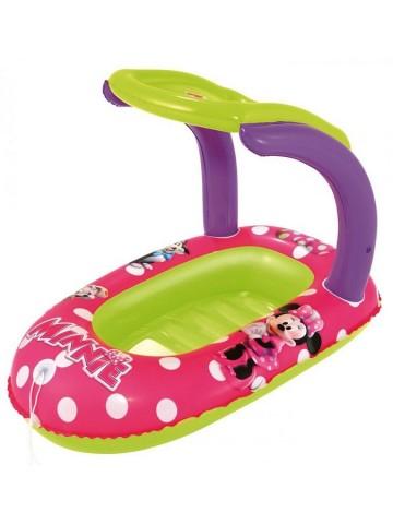 Dětský nafukovací člun se stříškou Bestway Minnie