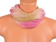 Batikolt körsál ll - barna fáradt rózsaszín