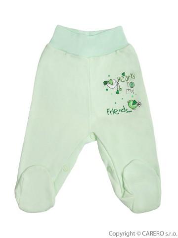 Kojenecké polodupačky Bobas Fashion Benjamin zelené