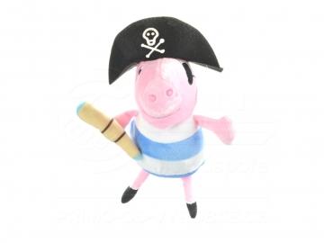 George Pig (fratele purcelușei Pepa)  - din pluș 25 cm