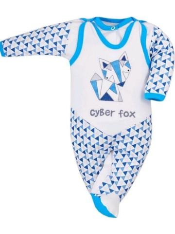 2-dielna dojčenská súprava Bobas Fashion Baby Beti modrá