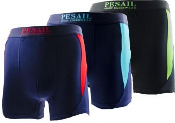 Bambusz boxeralsó Pesail M0162 - 3db, méret XXL