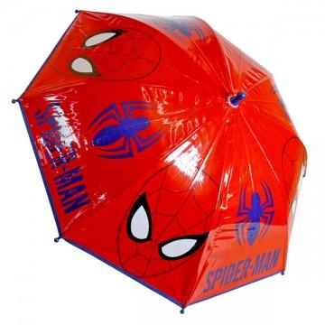 Deštník Spiderman červený
