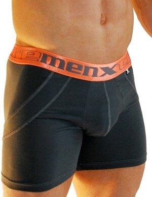 Boxeri Xtremen Sports Boxer Lift Dark Gray, 1 perechi, mărimea L