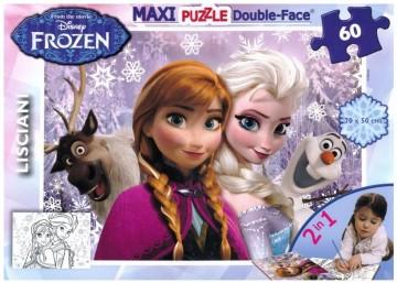 Lisciani Maxi Puzzle - Disney Jégvarázs 60 darab