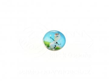Ozdobný patent na náramek - Frozen 8