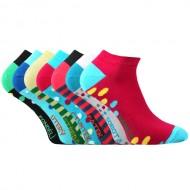 Kotníkové ponožky na celý týden - 7 párů, velikost 39-42