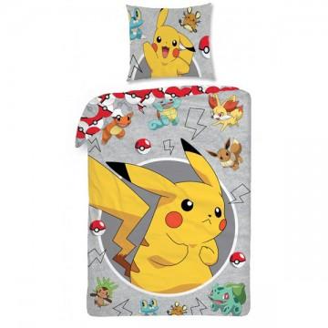 Povlečení Pokémon Pikachu 140/200, 70/90