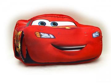 Tvarovaný polštářek Cars 34 cm
