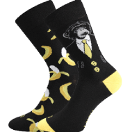 Ponožky - Opice - velikost 43-46