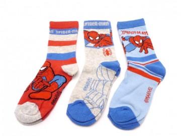Ponožky - Spiderman 1 - velikost 27-30 - cena za 3 páry