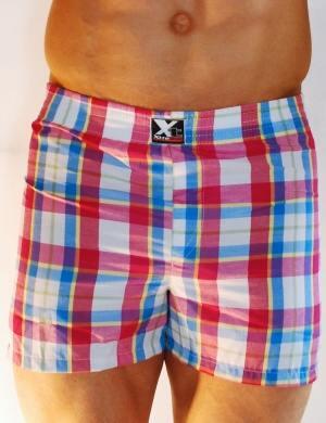 Pánské trenýrky Xtremen Shorts Boxer TH 16, Velikost oblečení S