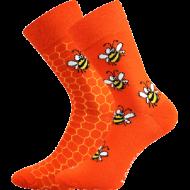 Ponožky - Včelky - velikost 39-42