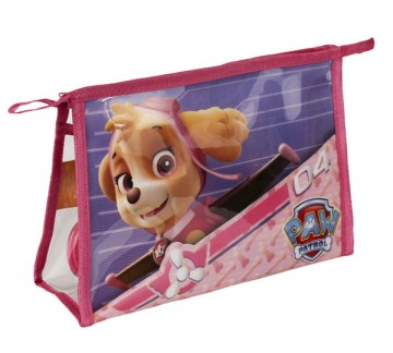 Kosmetická vybavená taška Paw Patrol Skye růžová