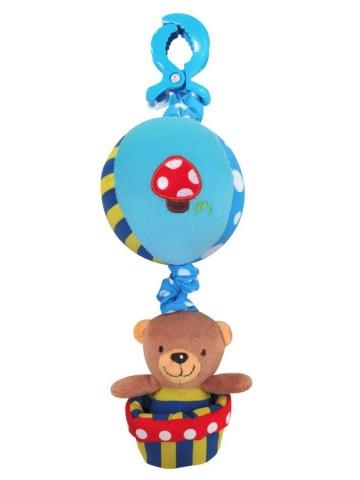Detská plyšová hračka Baby Mix Medvedík modrý