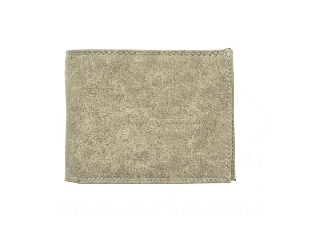 Pánská koženková peněženka Wild Things Only - bez zavírání [6906]