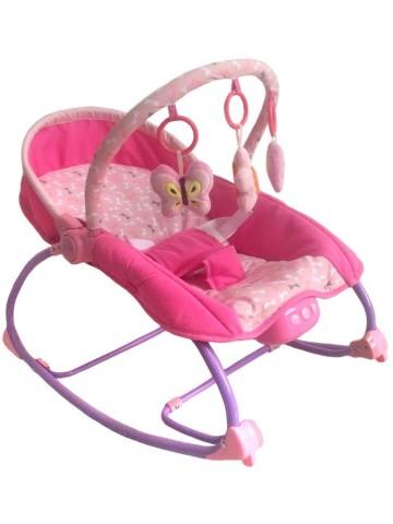 Lehátko pro miminko 2v1 Baby Mix růžové