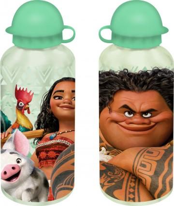 Alu láhev Odvážná Vaiana zelená