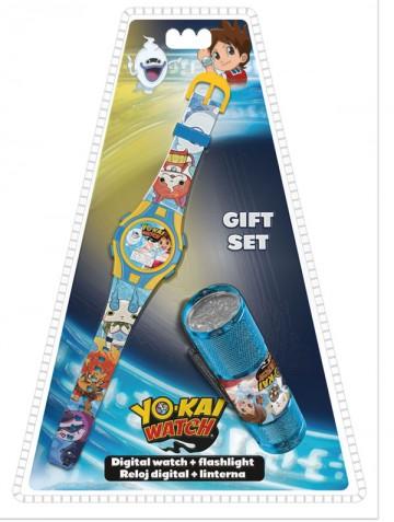 Dárková sada YO-KAI hodinky a LED baterka