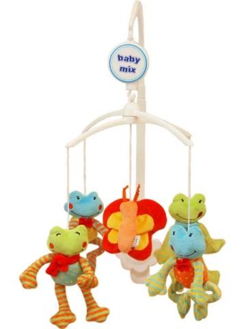 Kolotoč nad postýlku Baby Mix Žáby