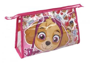Kosmetická taška vybavená Paw Patrol Skye