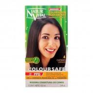 Barva bez amoniaku Coloursafe Naturaleza y Vida - hnědá, 150ml