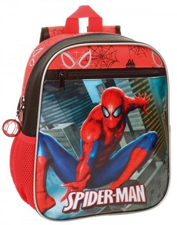Junior batoh Spiderman City 28 cm