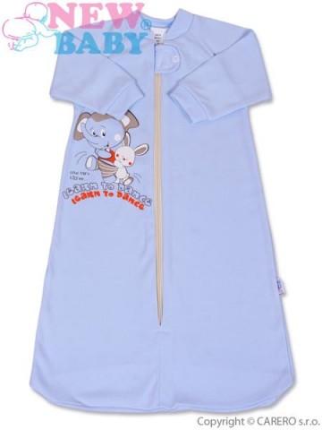 Kojenecký spací pytel New Baby modrý