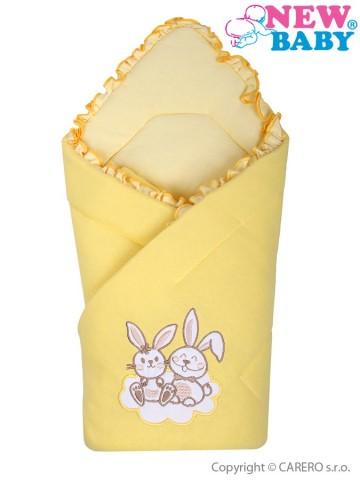 Zavinovačka New Baby Bunnies žltá