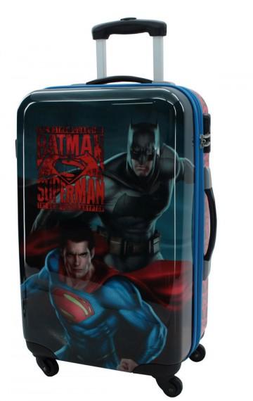 Cestovní kufr ABS Batman vs Superman 67 cm