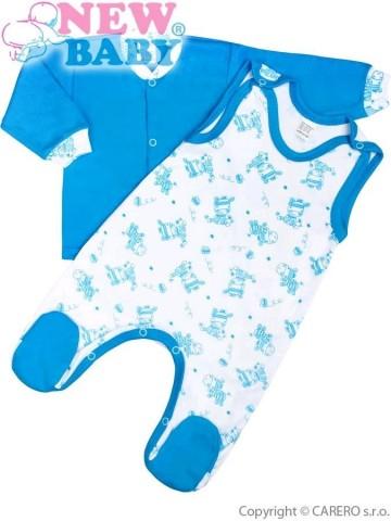 2-dielna dojčenská súprava New Baby Zebrababy II modrá