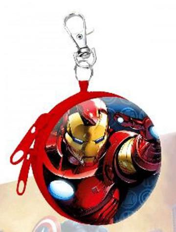 Dětská kovová peněženka s karabinou Avengers