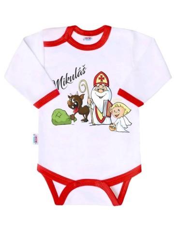 Body s potlačou New Baby Mikuláš