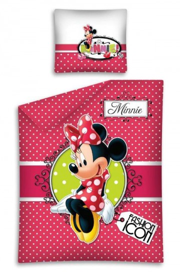Ágyneműhuzat Minnie Fashion 140/200 cm