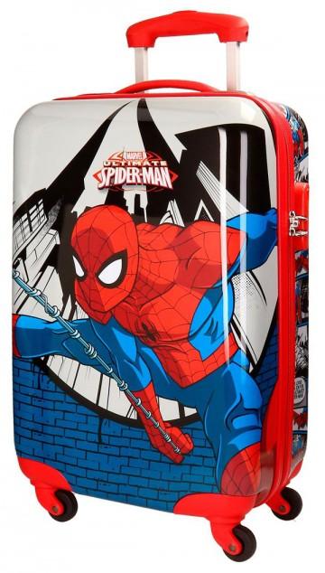 Cestovní kufr ABS Spiderman Comix 55 cm