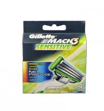 Gillette Mach3 Sensitive 3 NH + Fusion Proglide Power 1 NH
