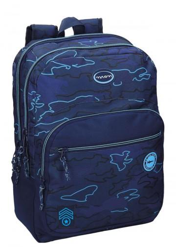Batoh Movom Camu blue 42 cm