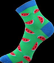 Ponožky Meloun - 1 pár, velikost 35-38