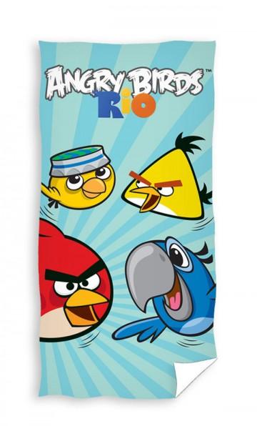 Osuška Angry Birds Rio Blue 70/140