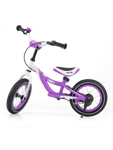 Dětské odrážedlo kolo Milly Mally Hero purple