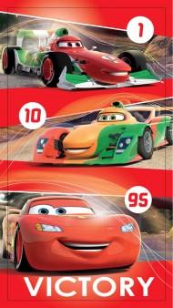 Fürdőlepedő Cars red 2016 70/140 cm