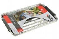 Grilovací hliníkové tácky BBQ - Set 4ks (34x23x2.5cm)