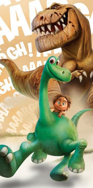 Osuška Hodný Dinosaurus Arlo a Butch 70/140