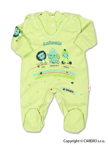 2-dielna súprava New Baby Zvieratká zelená