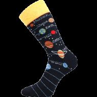 Ponožky - Slunečí soustava - velikost 43-46
