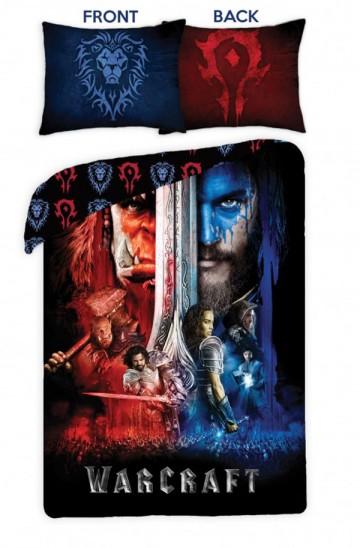 Povlečení Warcraft black 140/200 cm