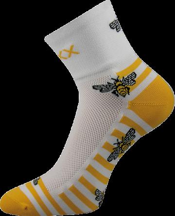 Ponožky - Včelky - velikost 35-38