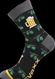 Ponožky Pivo, chmel - 1 pár, velikost 39-42