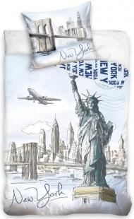 Povlečení New York Socha Svobody 140/200 cm