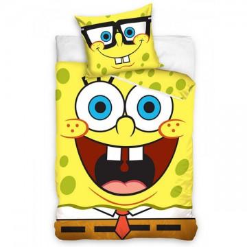 Povlečení SpongeBob úsměv 140/200, 70/80